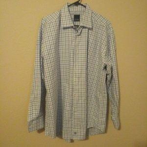 David Donahue Men's Dress Shirt